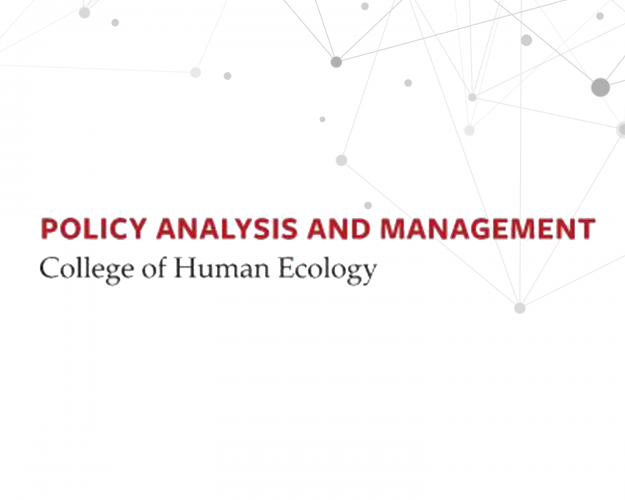 Policy Analysis and Management logo